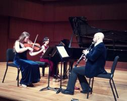"Second DMA Recital: ""The Velvet Trio"" performs the Bruch Trio"